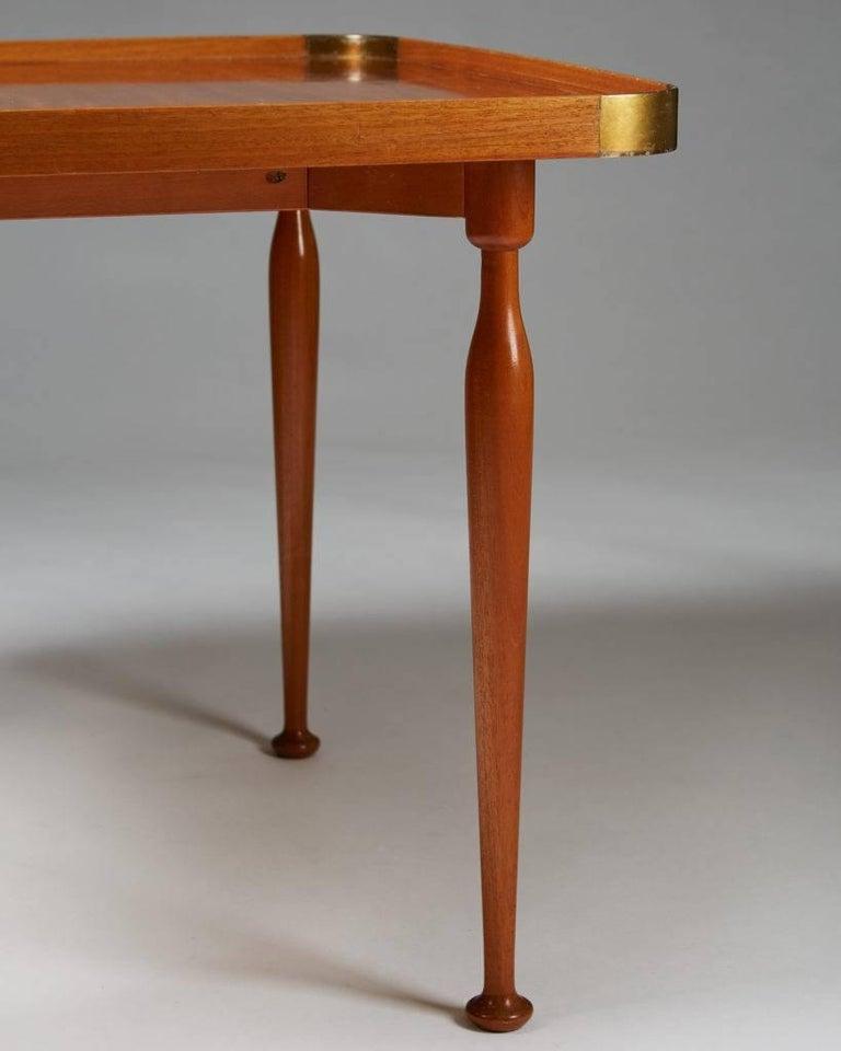Swedish Occasional Table Model 1074 Designed by Josef Frank for Svenskt Tenn, Sweden For Sale