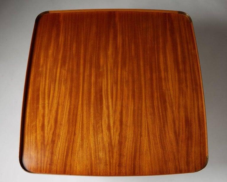 Occasional Table Model 1074 Designed by Josef Frank for Svenskt Tenn, Sweden In Good Condition For Sale In Stockholm, SE
