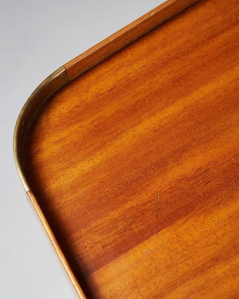 Mid-20th Century Occasional Table Model 1074 Designed by Josef Frank for Svenskt Tenn, Sweden For Sale