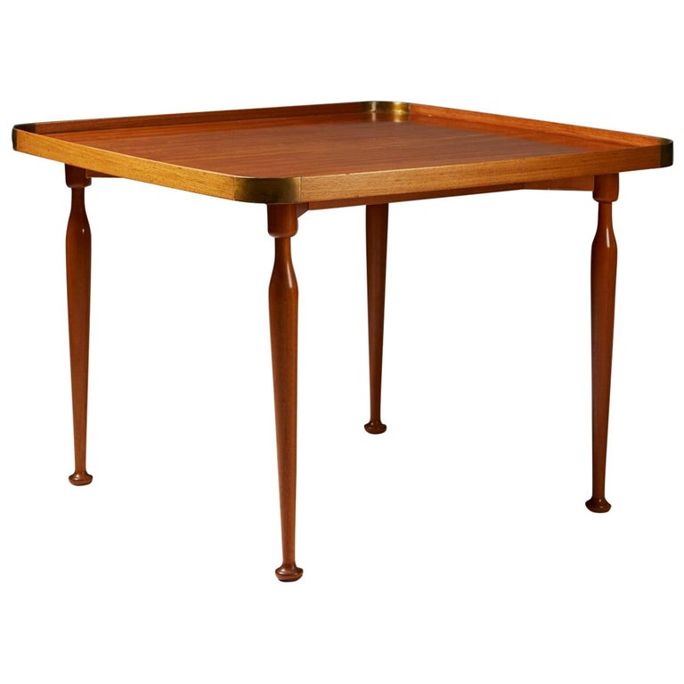 Occasional Table Model 1074 Designed by Josef Frank for Svenskt Tenn, Sweden For Sale