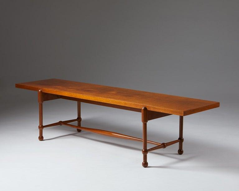 Scandinavian Modern Occasional Table Model 2180 Designed by Josef Frank for Svenskt Tenn, Sweden For Sale