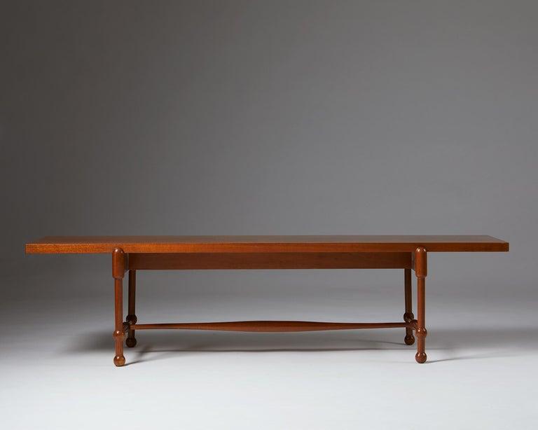 Swedish Occasional Table Model 2180 Designed by Josef Frank for Svenskt Tenn, Sweden For Sale