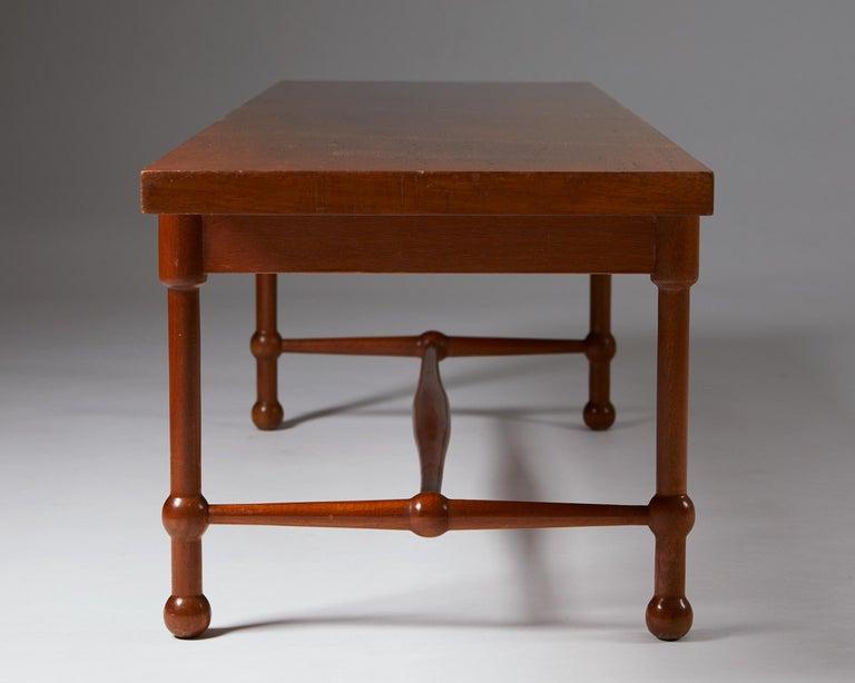 Occasional Table Model 2180 Designed by Josef Frank for Svenskt Tenn, Sweden In Good Condition For Sale In Stockholm, SE
