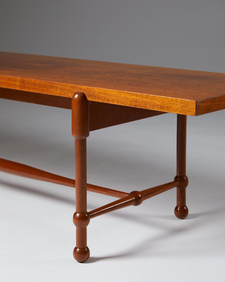 Mid-20th Century Occasional Table Model 2180 Designed by Josef Frank for Svenskt Tenn, Sweden For Sale