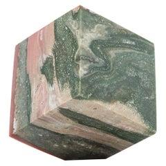 Ocean Jasper Cube