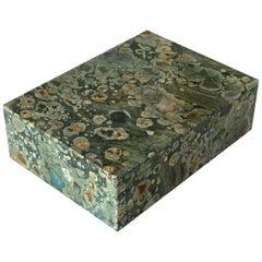 Ocean Jasper Stone Hinged Box
