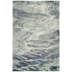 Oceanic Area Rug Handcrafted in Wool by The Rug Company