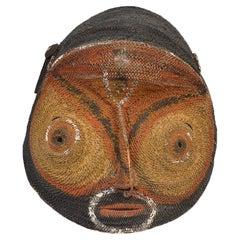 Oceanic Tribal Art Old Ambelam Yam Mask Papua, New Guinea