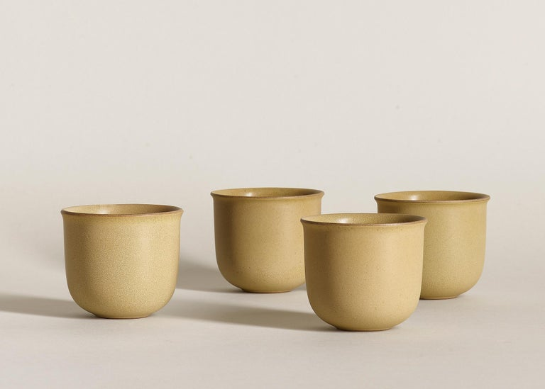 Brave Matter studio's first accessories collection is characterized by brave silhouettes and evocative material finishes. Uniting ceramic with wood they create utilitarian objects that are equally resolute and ethereal, visceral and