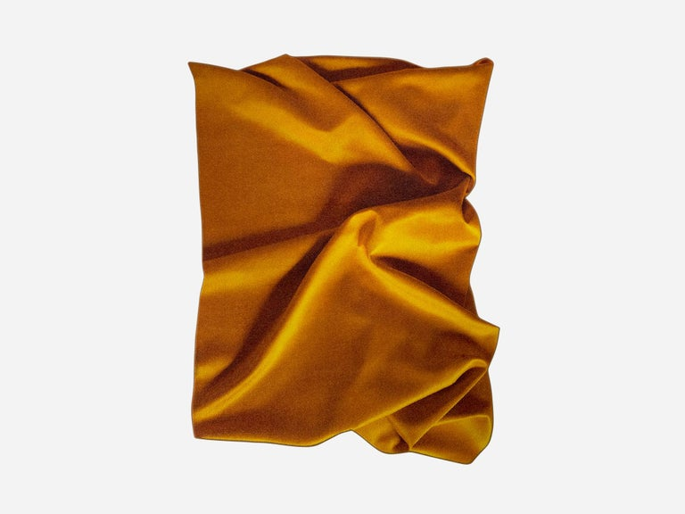 'Ochre' Yellow, Eye-Catching Modern Tufted Tapestry, Art Wallhanging and Rug In New Condition For Sale In The Hague, NL
