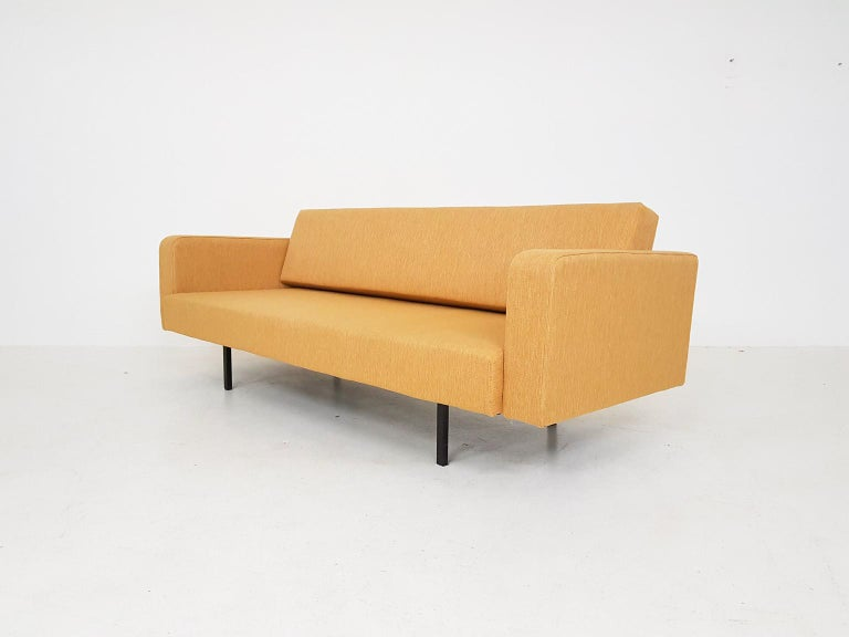 Peachy Ochre Yellow Martin Visser Style Sofa Sleeper Or Daybed The Netherlands 1950S Evergreenethics Interior Chair Design Evergreenethicsorg