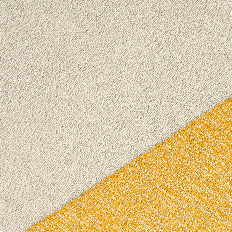 Italian Oci Right M, Rug 100% Wool / Yellow Deep Gray by Portego For Sale