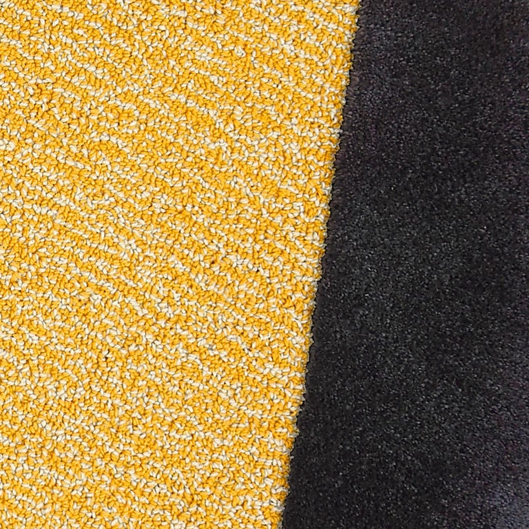 Machine-Made Oci Right M, Rug 100% Wool / Yellow Deep Gray by Portego For Sale