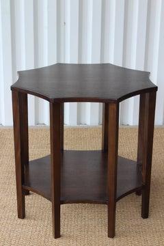 Octagonal Center Table, USA, 1950s