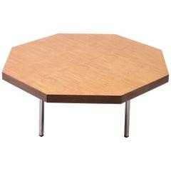 Octagonal Coffee Table by Pierre Paulin for Artifort