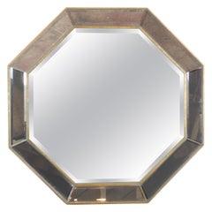 Octagonal Italian Mirror