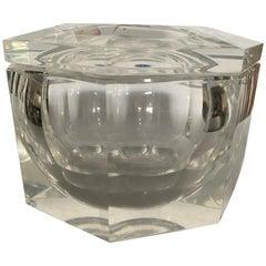 Octagonal Lucite Ice Bucket, a Carole Stupell Design, circa 1970