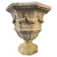 Octagonal Medici Vase