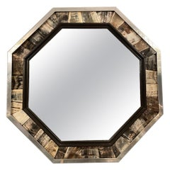 Octagonal Mirror by Anthony Redmile, circa 1970
