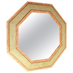Octagonal Mirror From Robert Marcius, 1980s
