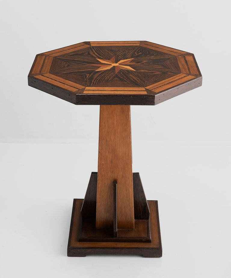 Octagonal occasional table, England, circa 1870.