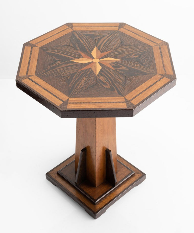 Victorian Octagonal Occasional Table, England, circa 1870 For Sale