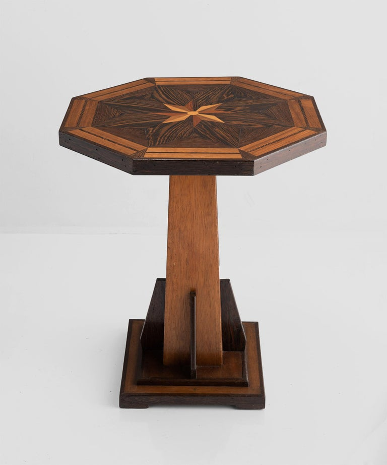 Late 19th Century Octagonal Occasional Table, England, circa 1870 For Sale