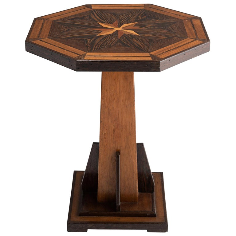 Octagonal Occasional Table, England, circa 1870 For Sale
