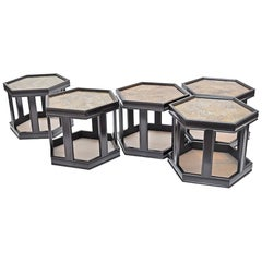 Octagonal Occasional Tables 'Priced Individually ' Only two available