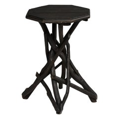 Octagonal Twig Table