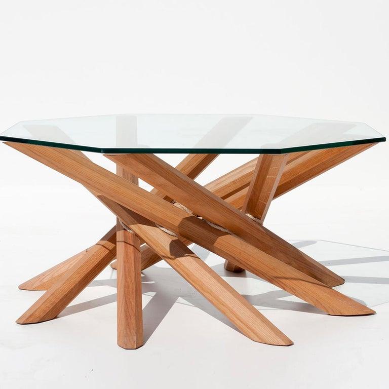 Italian Octavo Coffee Table by Apulia Design For Sale