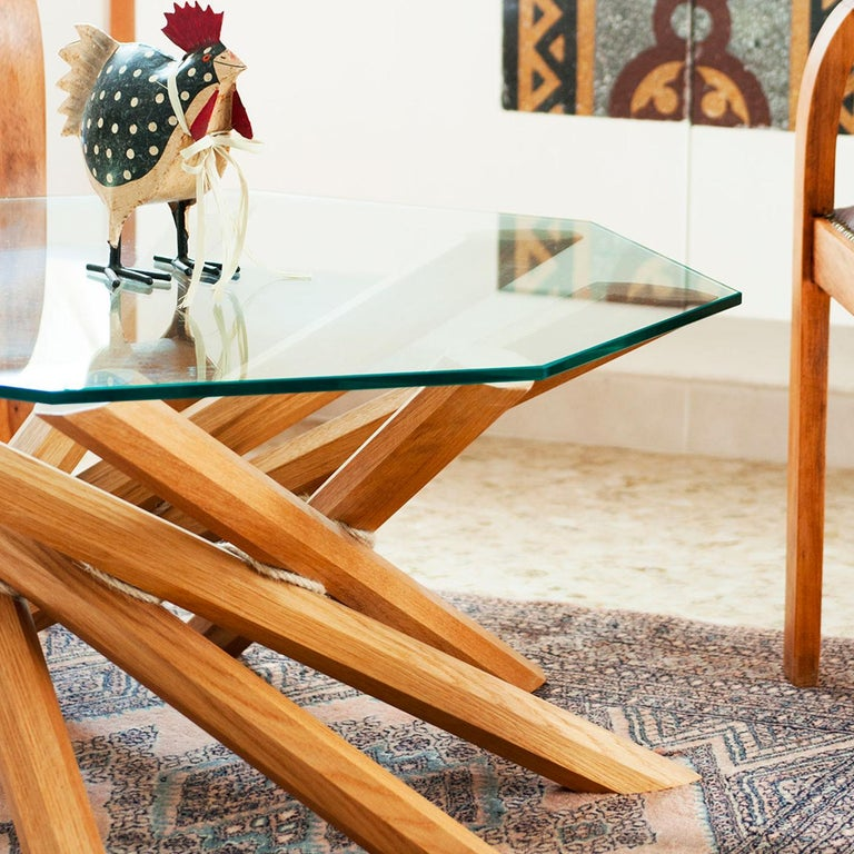 Contemporary Octavo Coffee Table by Apulia Design For Sale