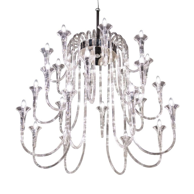 Octopus 24 Chandelier In New Condition For Sale In Milan, IT