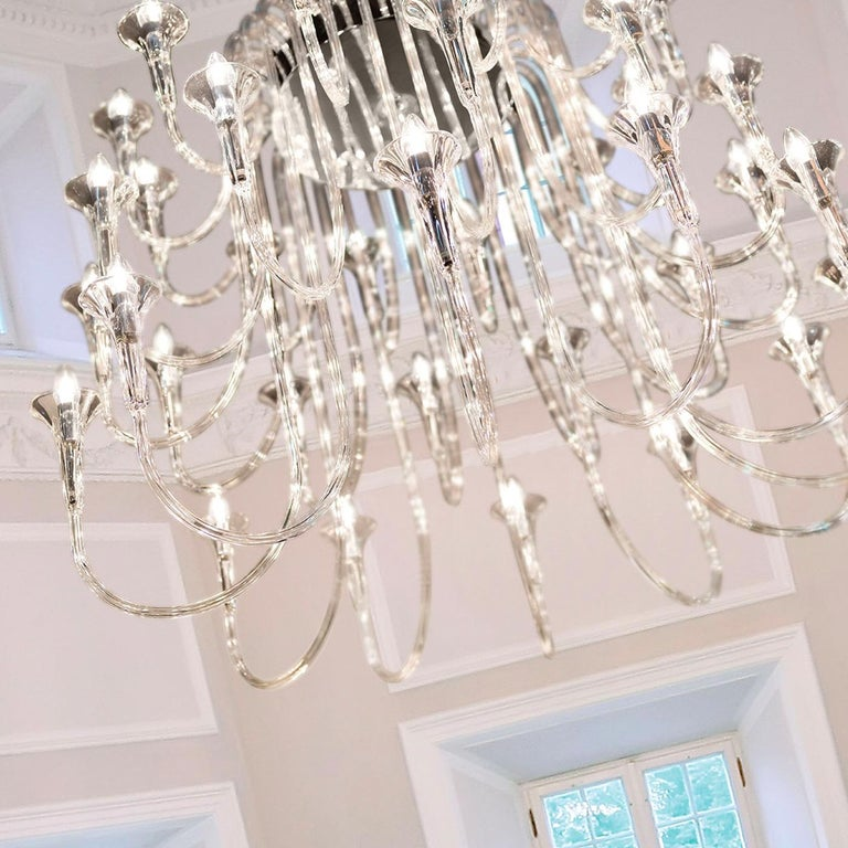 Italian Octopus 36 Chandelier For Sale