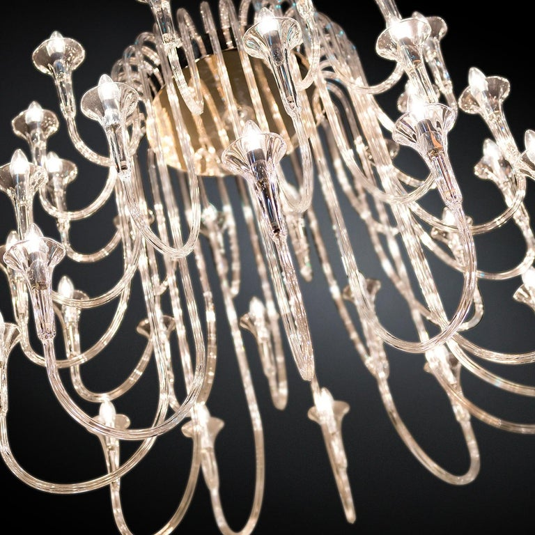 Octopus 36 Chandelier In New Condition For Sale In Milan, IT
