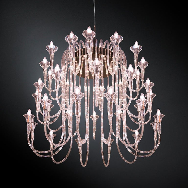 Contemporary Octopus 36 Chandelier For Sale
