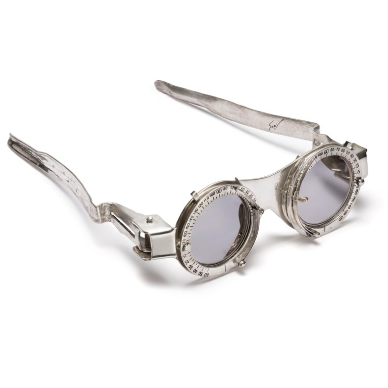 American Oculist Witness by Hiroshi Sugimoto - Artist edition Eyeglasses  For Sale