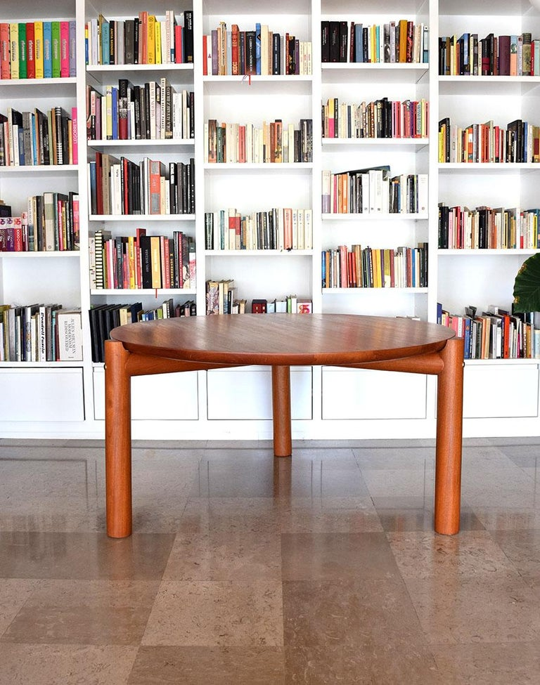 Mahogany Ocum Table For Sale