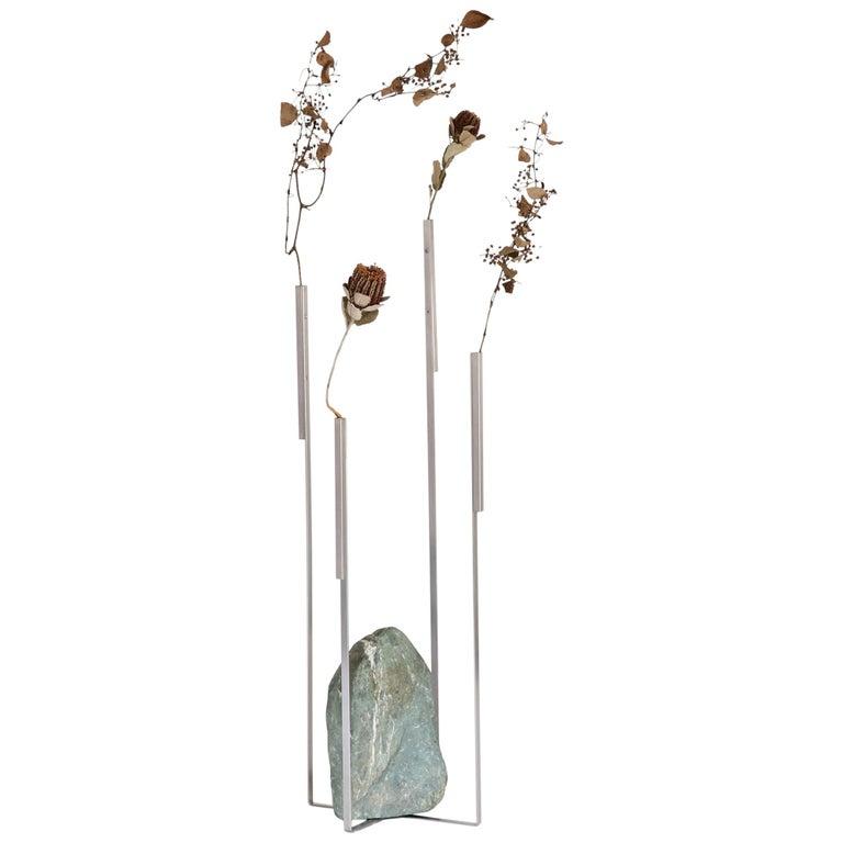 Odd Balance 01 Sculptural Vase Batten and Kamp Minimalist For Sale