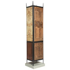 Oddities Armoire One-Off High Cabinet with Antique Details