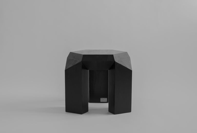 Ode Three-Legged Stool by Sizar Alexis For Sale 1