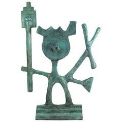 Oded Halahmy Bronze Cast Modern Abstract Sculpture