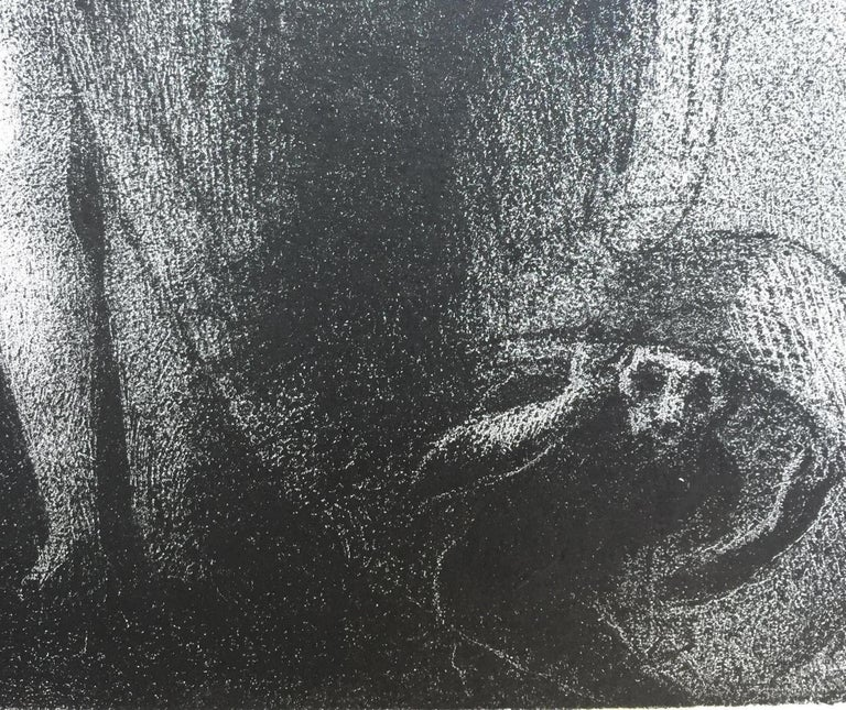 I Am Still the Great Isis... Je Suis Toujours.... - Print by Odilon Redon