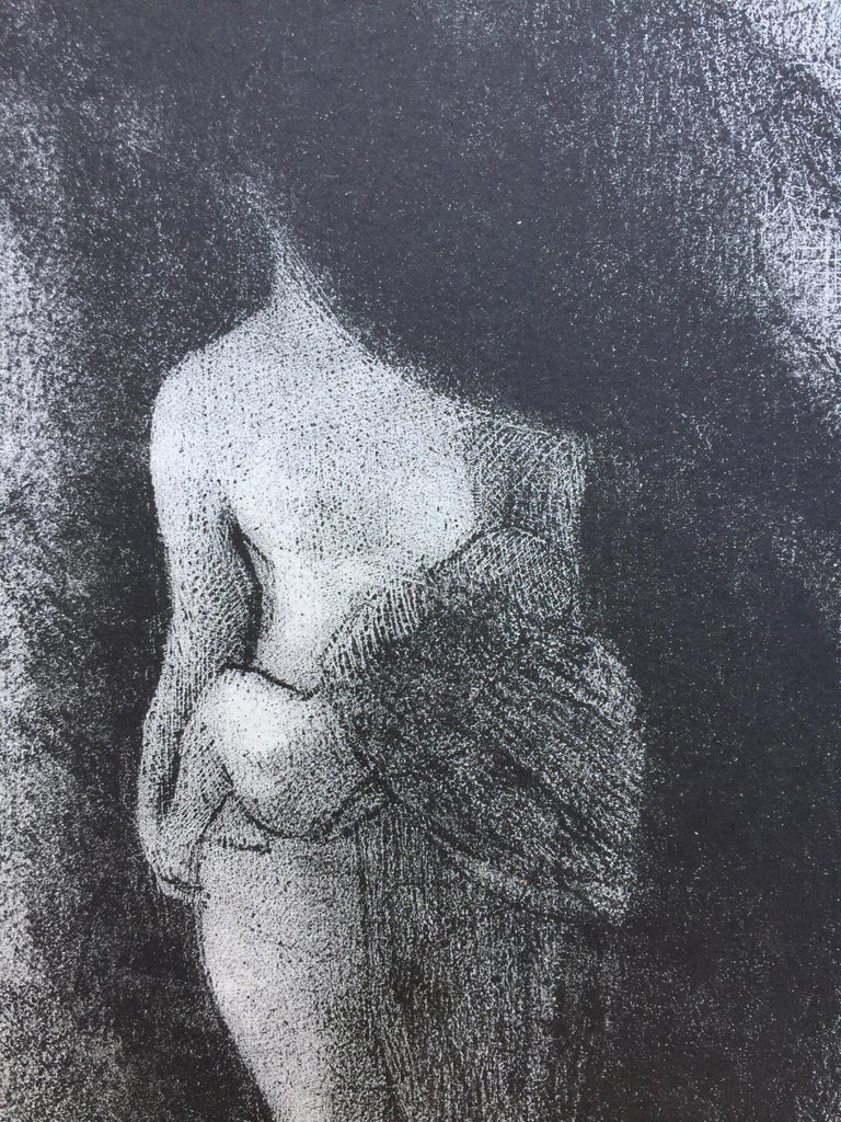 I Am Still the Great Isis... Je Suis Toujours.... - Symbolist Print by Odilon Redon