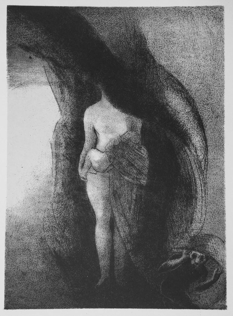 Odilon Redon Figurative Print - I Am Still the Great Isis... Je Suis Toujours....