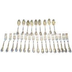 Odiot Paris Sterling Fontanelle Silverware