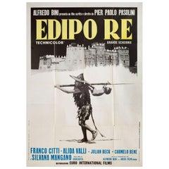 Oedipus Rex 1967 Italian Due Fogli Film Poster