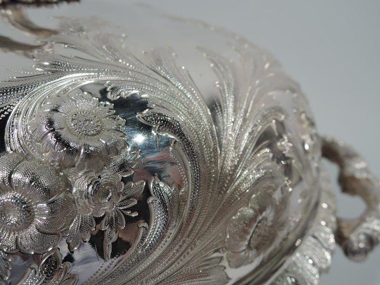 Sterling Silver Of Presidential Interest, Serving Dish Presented to Franklin Pierce For Sale