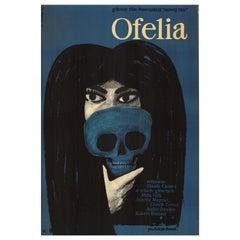 Ofelia Polish Movie Poster by Witold Janowski, 1964