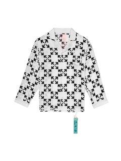 Off-White Arrow Pattern Pijama White Black Large